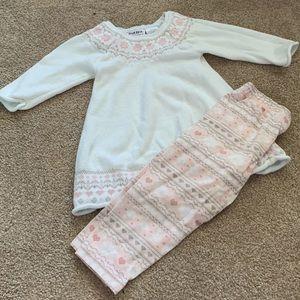 Adorable Sweater Tunic/Legging Set. EUC